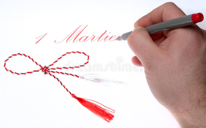 1 martie royalty free stock photography