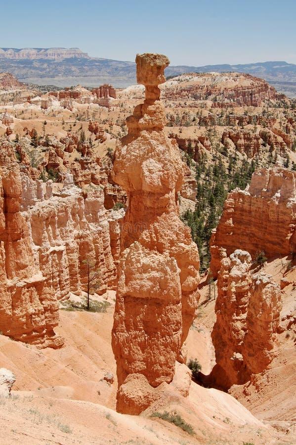 Martillo Bryce Canyon National Park Utah del ` s del Thor fotografía de archivo