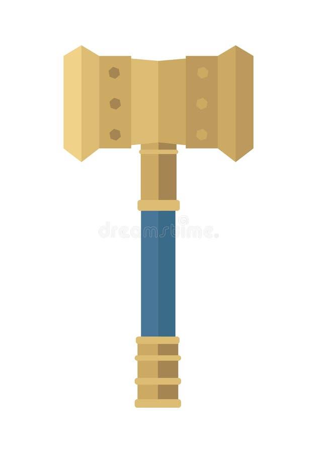 Martillo del Thor stock de ilustración