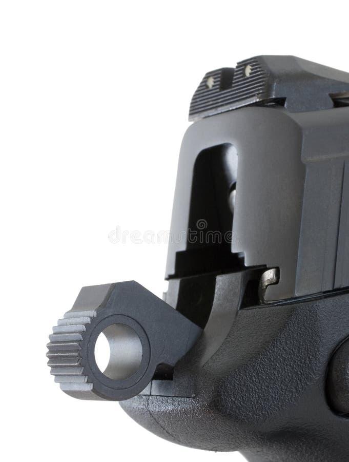 Martillo semi automático de la arma de mano imágenes de archivo libres de regalías