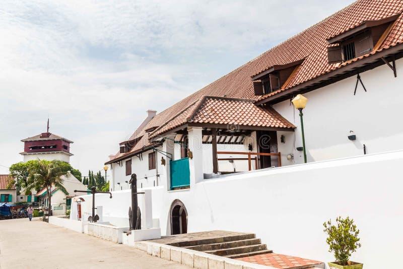 Fortress Sunda Kalepa with Martime museum Jakarta, Java Island I stock images