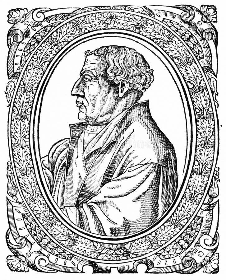 Martin Bucer, reformador protestante libre illustration