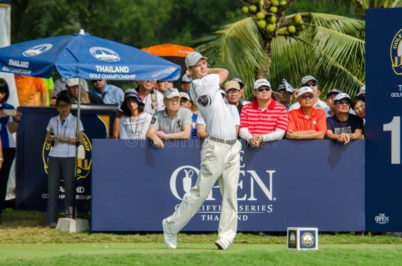 Martin Kaymer in het Golfkampioenschap 2015 van Thailand royalty-vrije stock fotografie