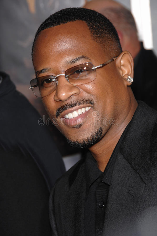 Martin Lawrence royalty free stock photo