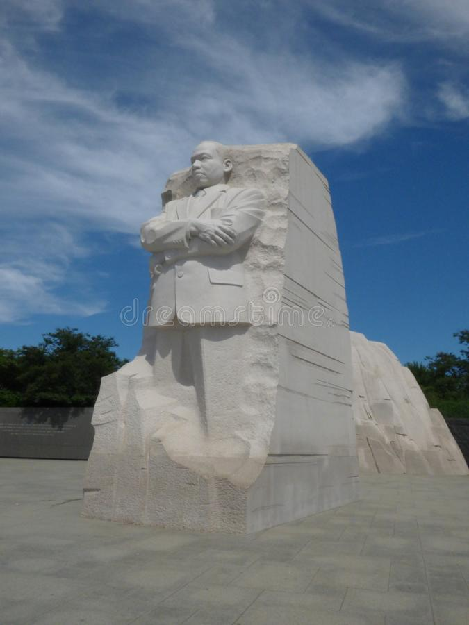 Martin Lither King-monument stock fotografie
