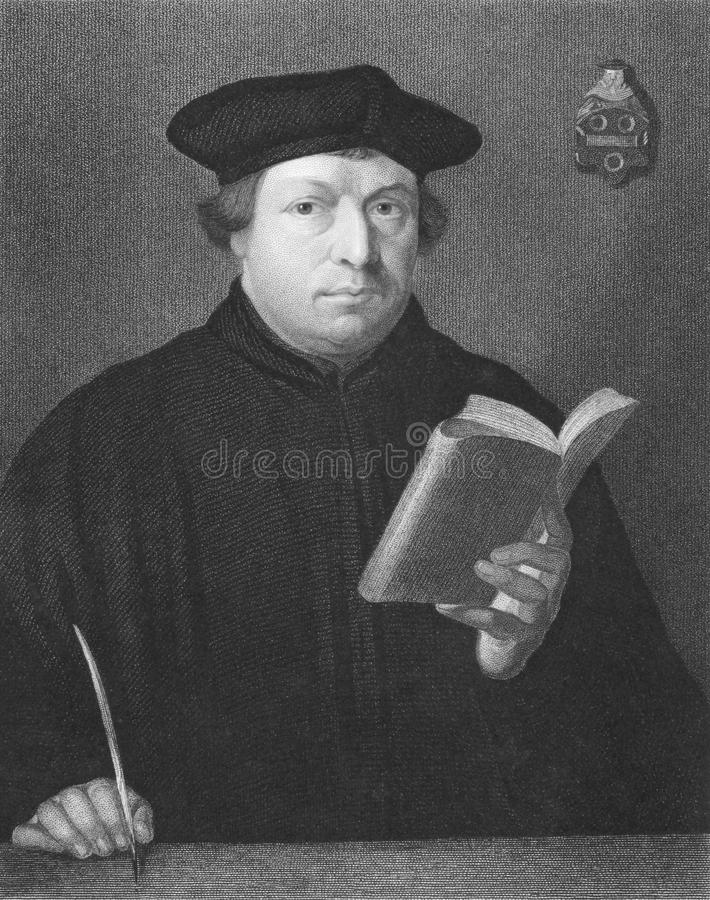 Martin Luther imagem de stock royalty free