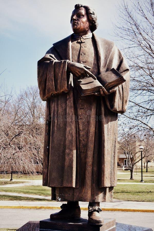 Martin Luther foto de archivo libre de regalías