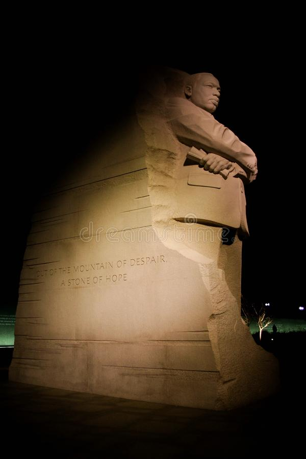Martin Luther King, μνημείο Jr στοκ φωτογραφία