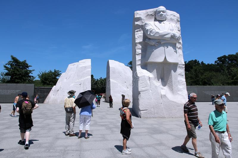 Martin Luther King stock afbeeldingen