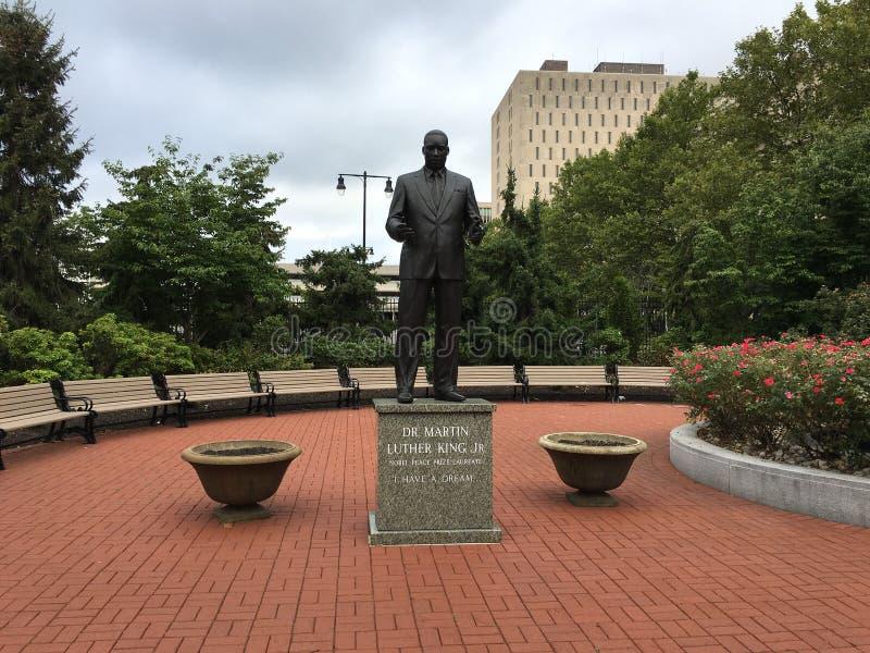 martin Luther King Blvd fotos de archivo