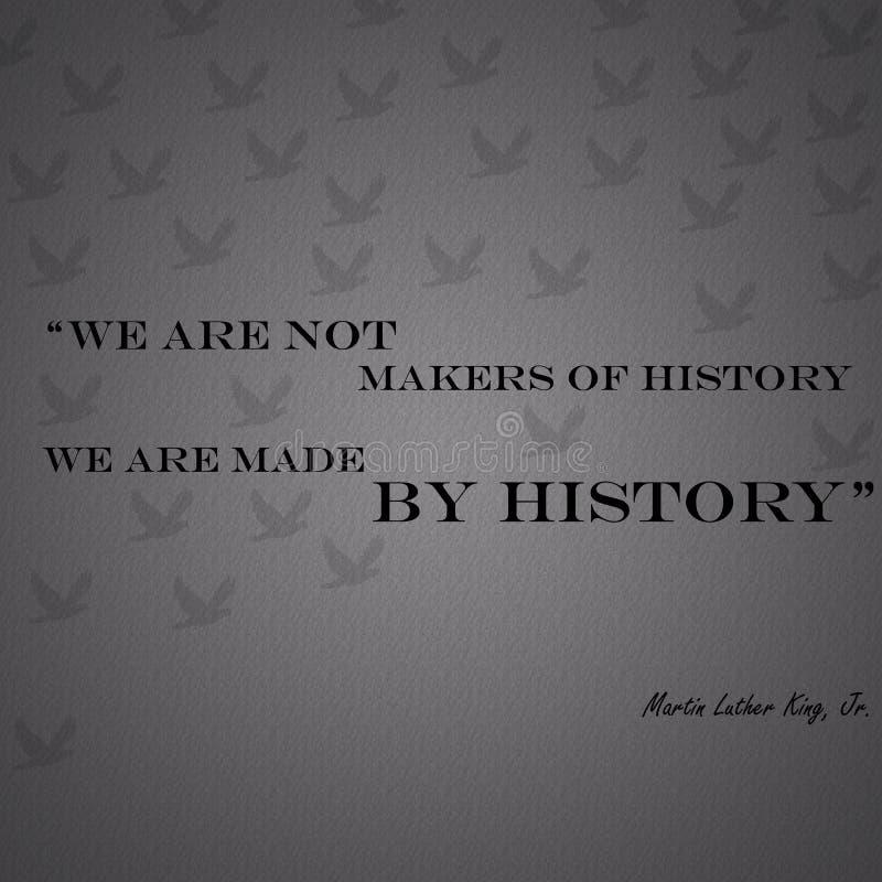 Martin Luther King Cited Jr royalty-vrije stock afbeeldingen