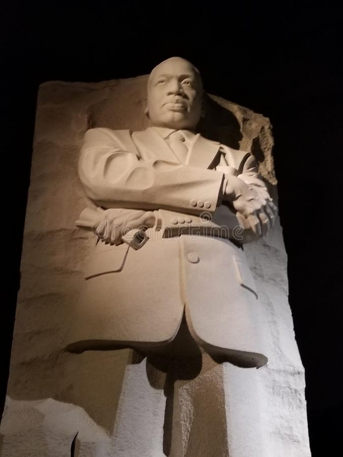 Martin Luther King in D C royalty-vrije stock foto