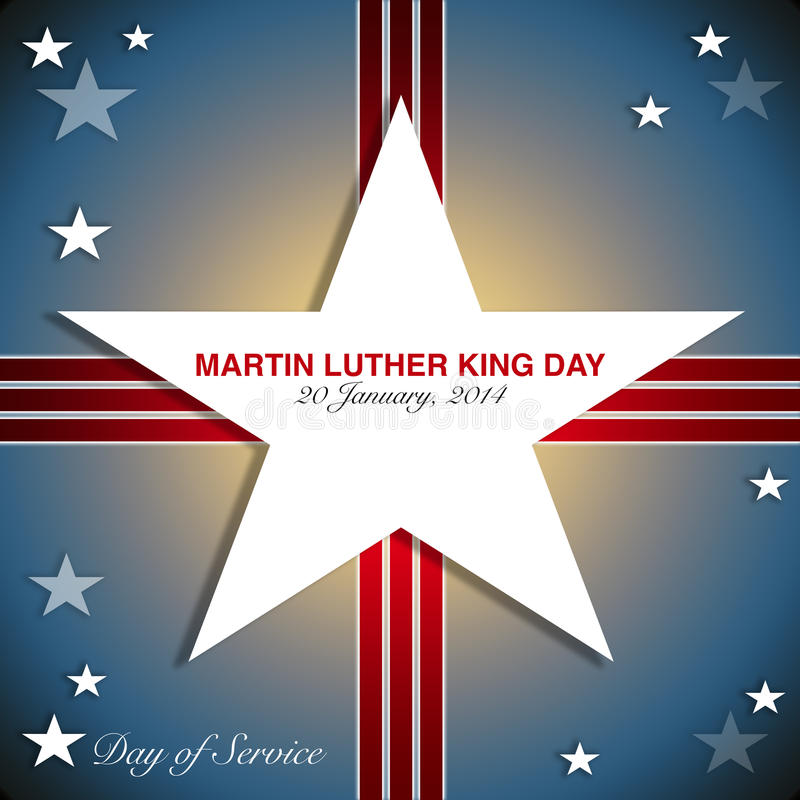 Martin Luther King Day illustration libre de droits