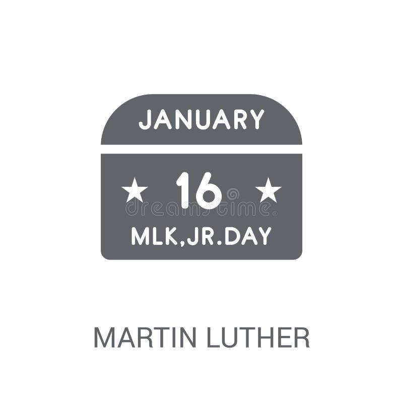 Martin Luther King dnia ikona  ilustracja wektor