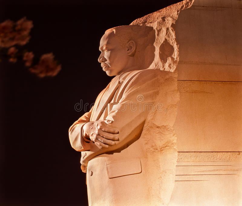 Martin Luther King HerdenkingsWashington D royalty-vrije stock afbeelding