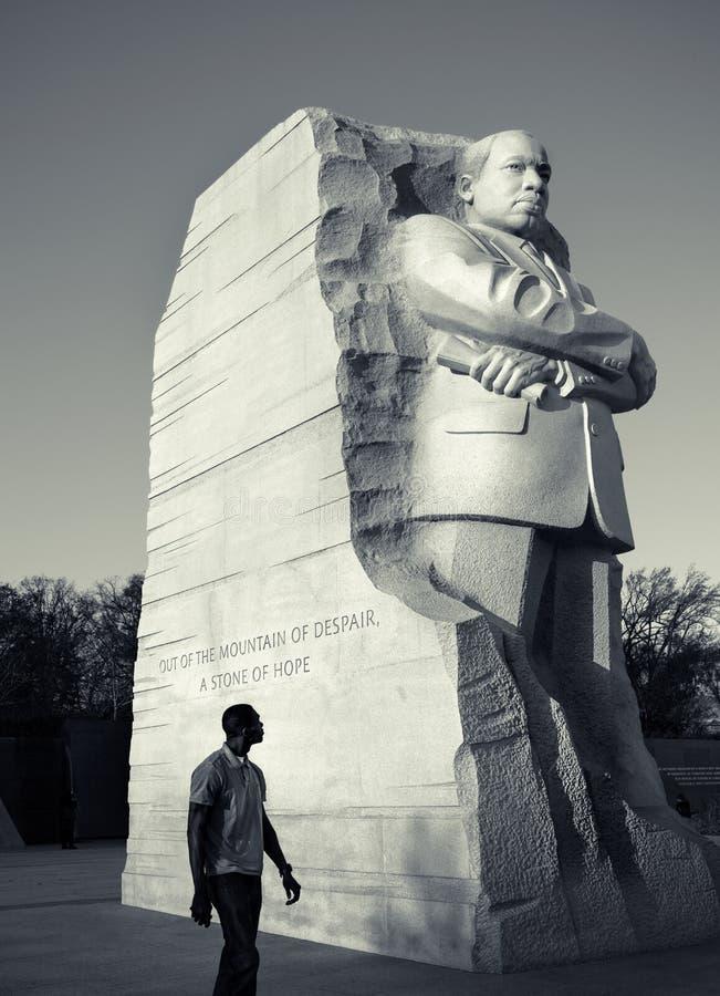 Martin Luther King, het Gedenkteken van Jr Nationaal Gedenkteken, Washington D C stock fotografie