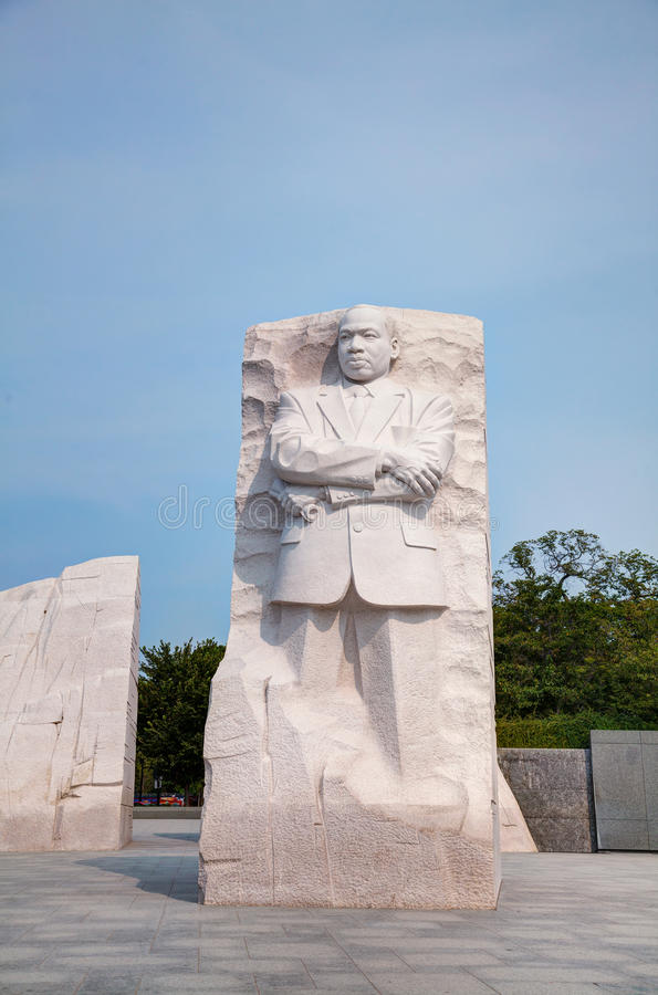 Martin Luther King, het herdenkingsmonument van Jr in Washington, gelijkstroom stock fotografie