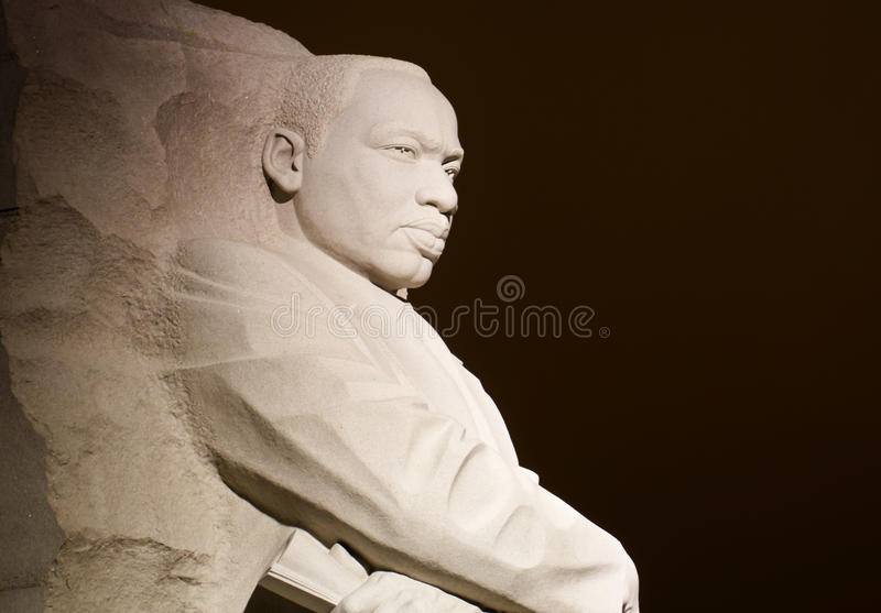 Martin Luther King Jr image stock