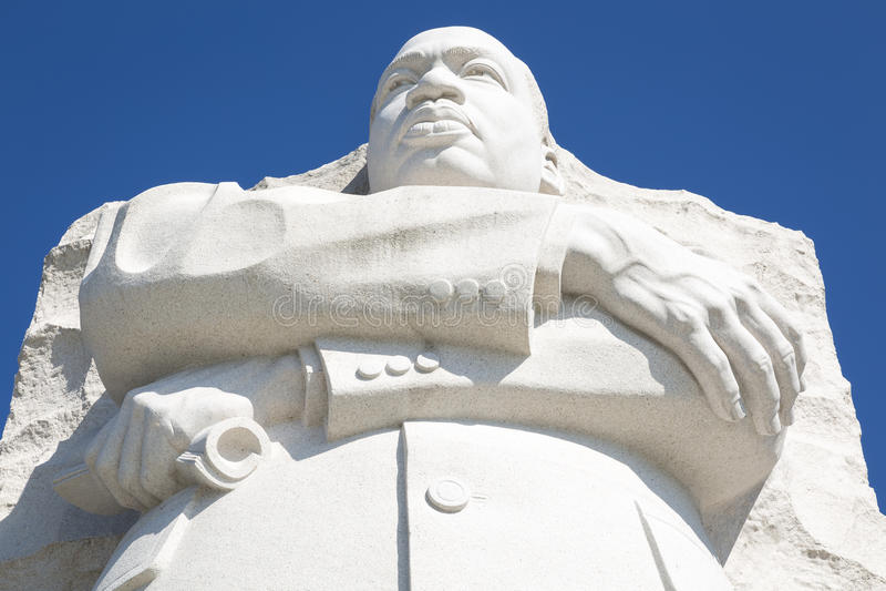 Martin Luther King Jr imagens de stock