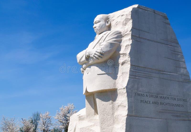 Martin Luther King Jr commémoratif photo libre de droits