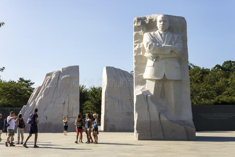 Martin Luther King Jr conmemorativo fotos de archivo libres de regalías