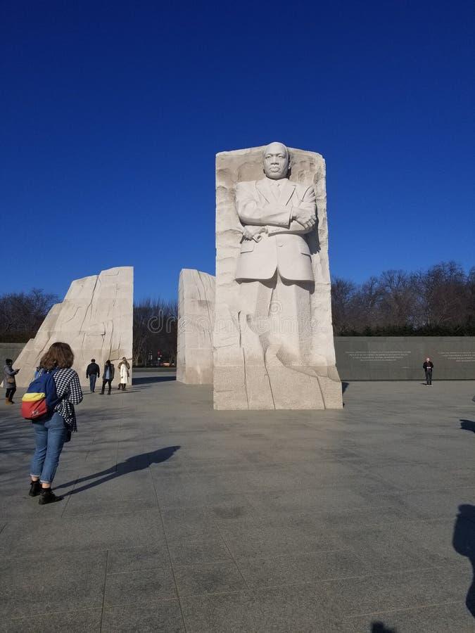 Martin Luther King Jr conmemorativo foto de archivo