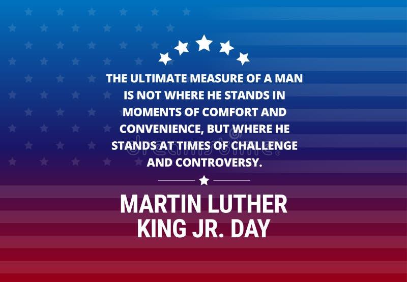 Martin Luther King Jr Day illustration libre de droits