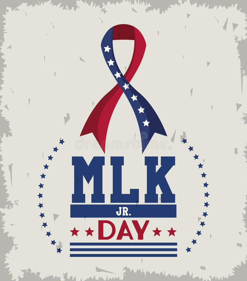 Martin Luther King Jr Day illustration stock