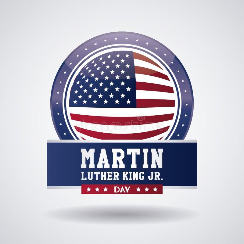 Martin Luther King Jr Day illustrazione vettoriale