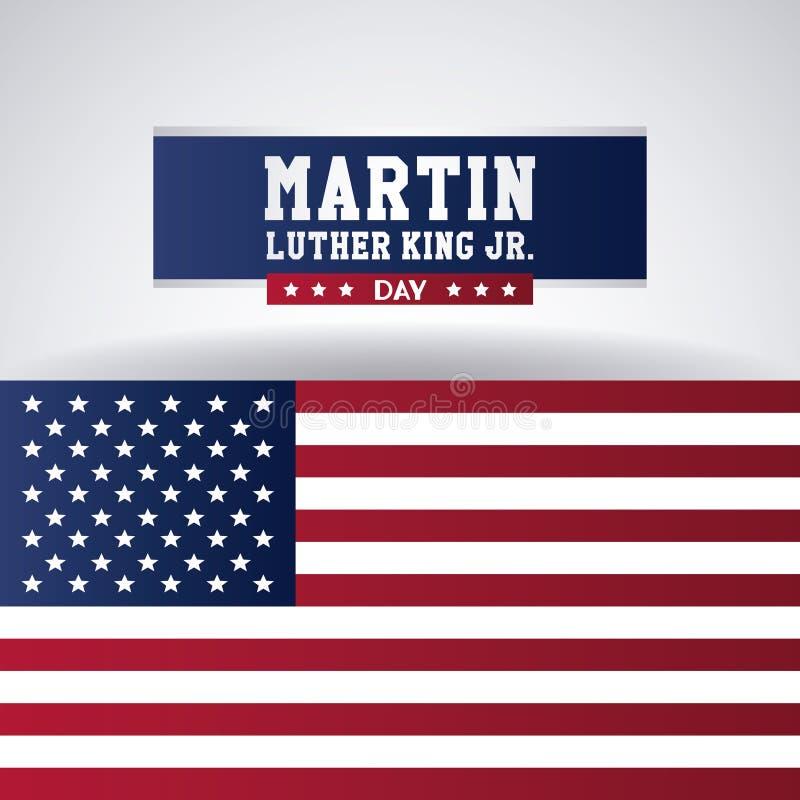 Martin Luther King Jr Day ilustração stock