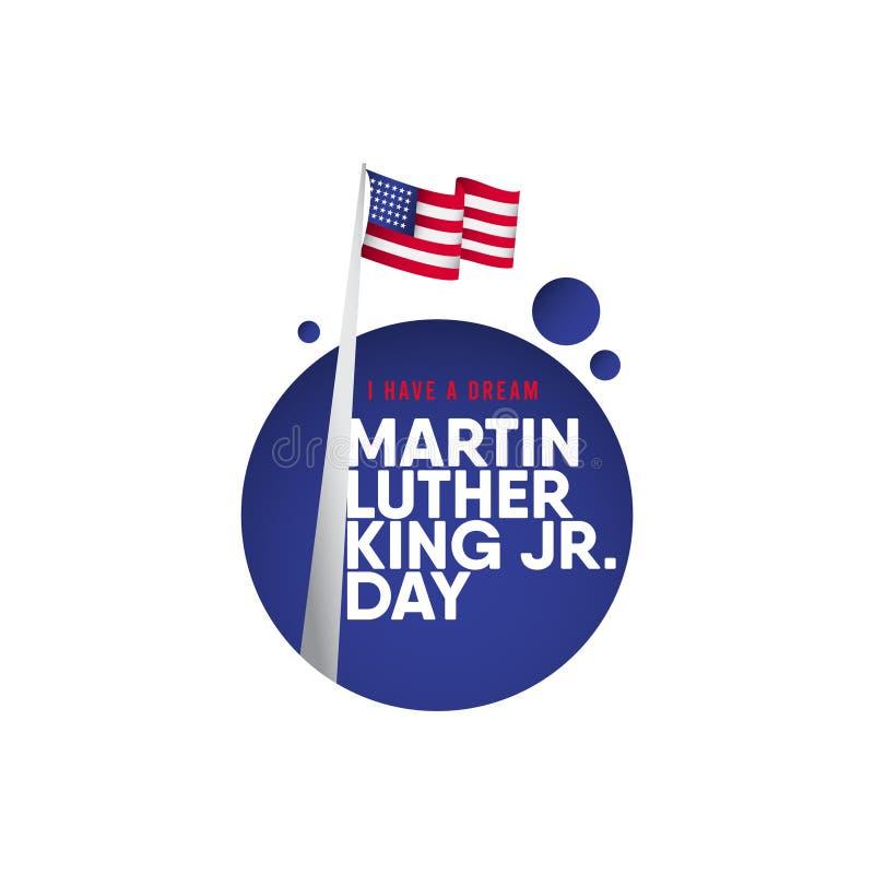 Martin Luther King JR. Day Vector Template Design Illustration vector illustration