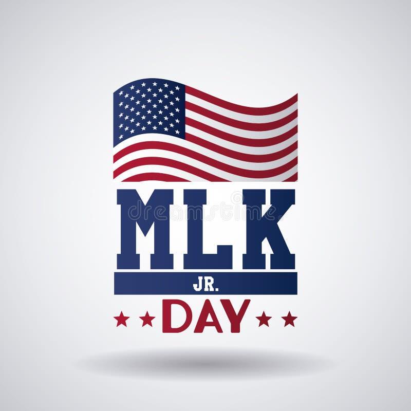 Martin Luther King jr dzień royalty ilustracja