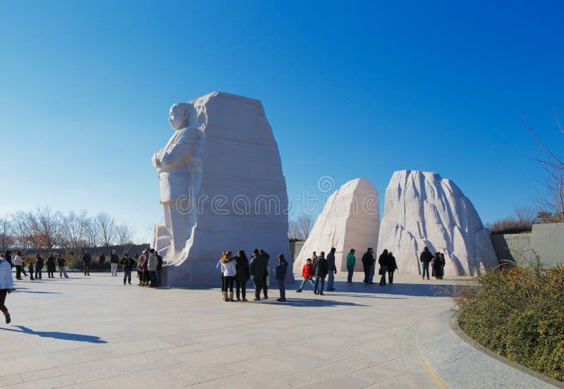 Martin Luther King, Jr.-Gedenkteken in Washington DC, de V.S. stock afbeelding