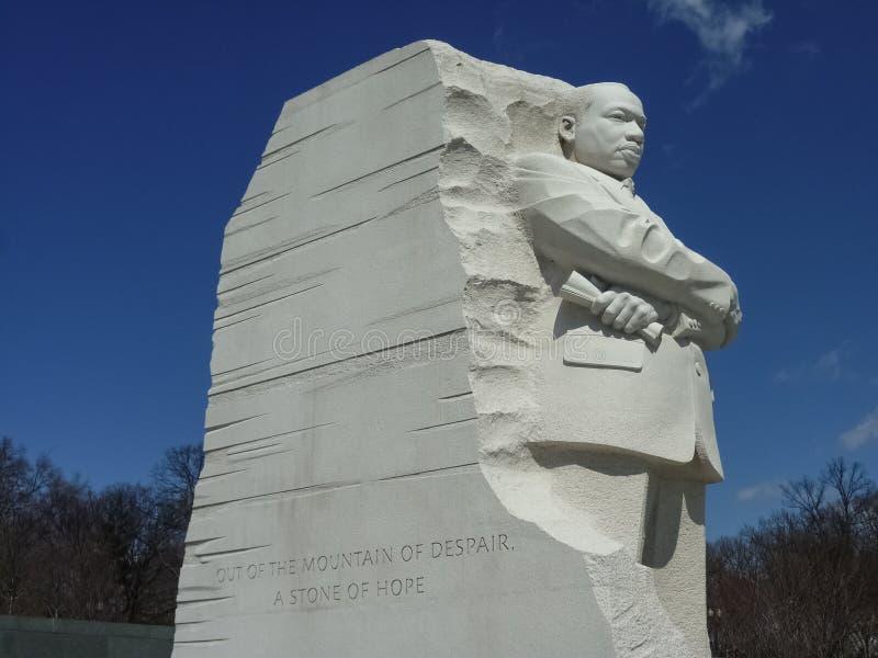 Martin Luther King Jr Mémorial national photographie stock