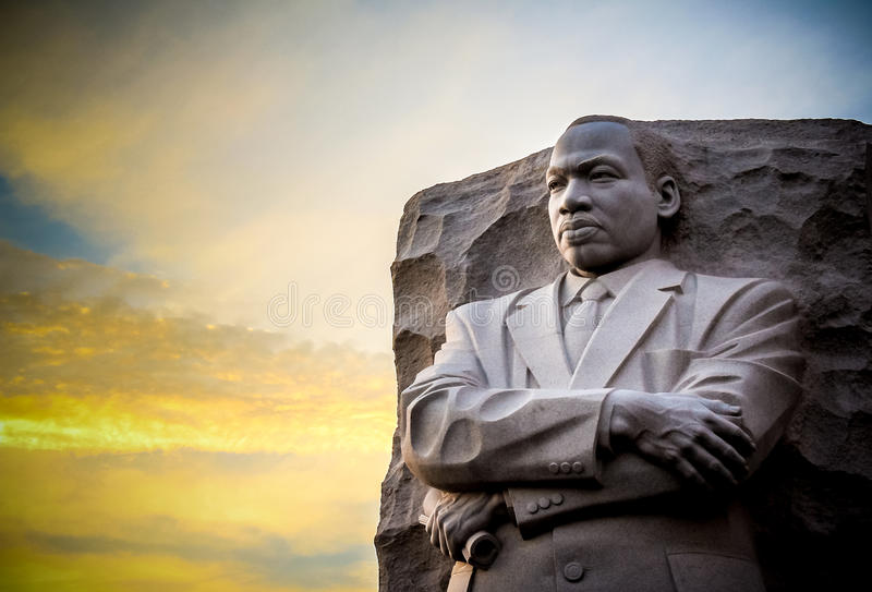 Martin Luther King Jr Memorial royalty free stock photos