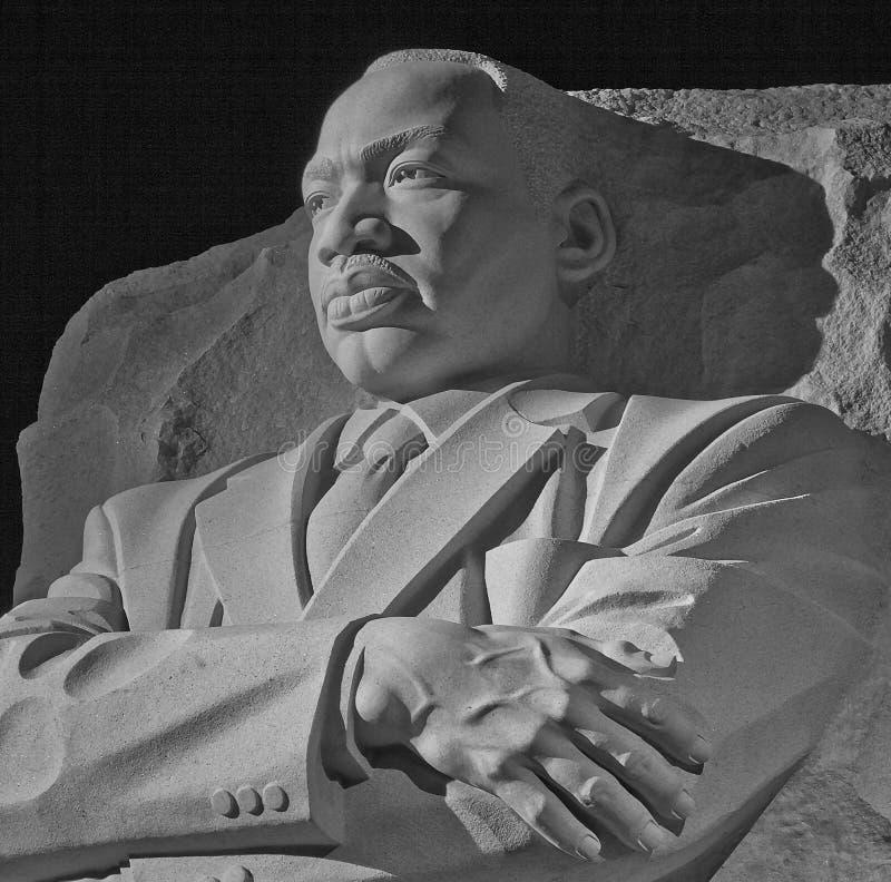 Martin Luther King jr.-minnesmärke--Washington DC arkivbild