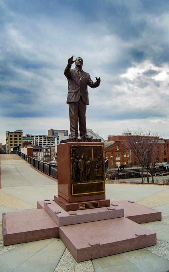 Martin Luther King, Jr.-Monument stock afbeeldingen