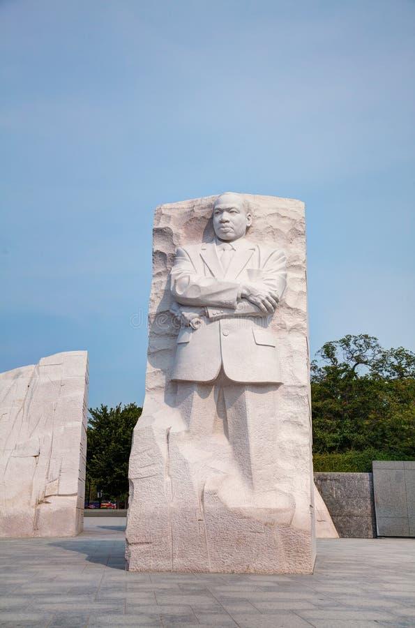 Martin Luther King, JR monument commémoratif à Washington, C.C photographie stock