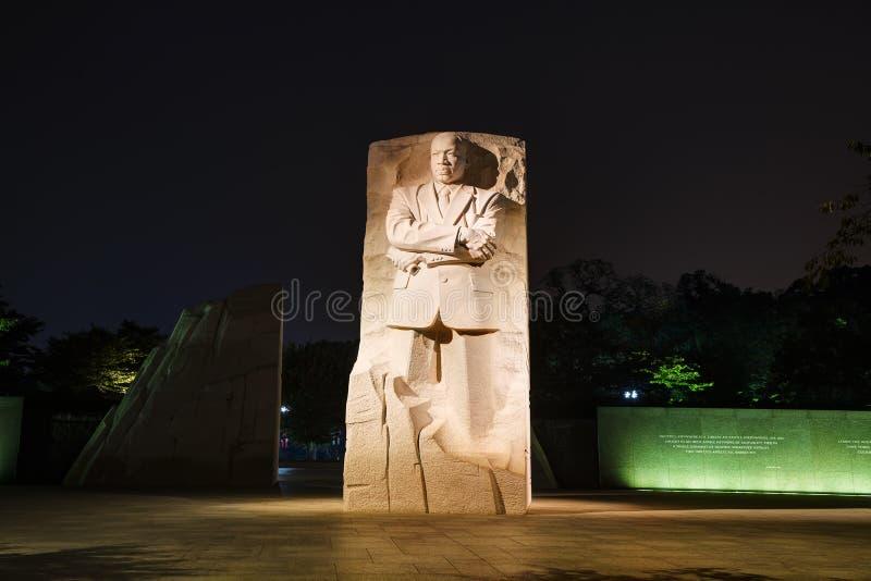 Martin Luther King, JR monument commémoratif à Washington, C.C images stock