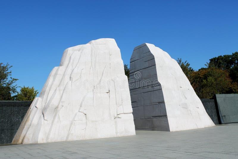 Martin Luther King Jr monumento fotografía de archivo libre de regalías