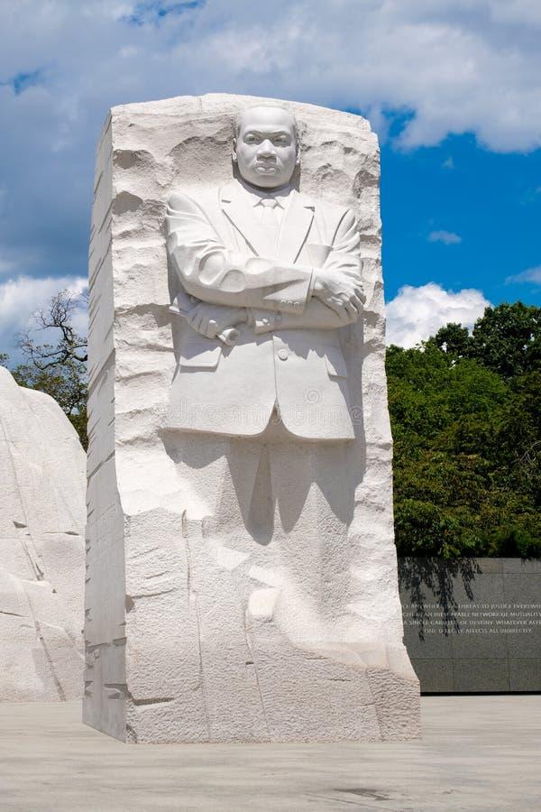 Martin Luther King Jr Nationaal Gedenkteken in Washington D C stock fotografie