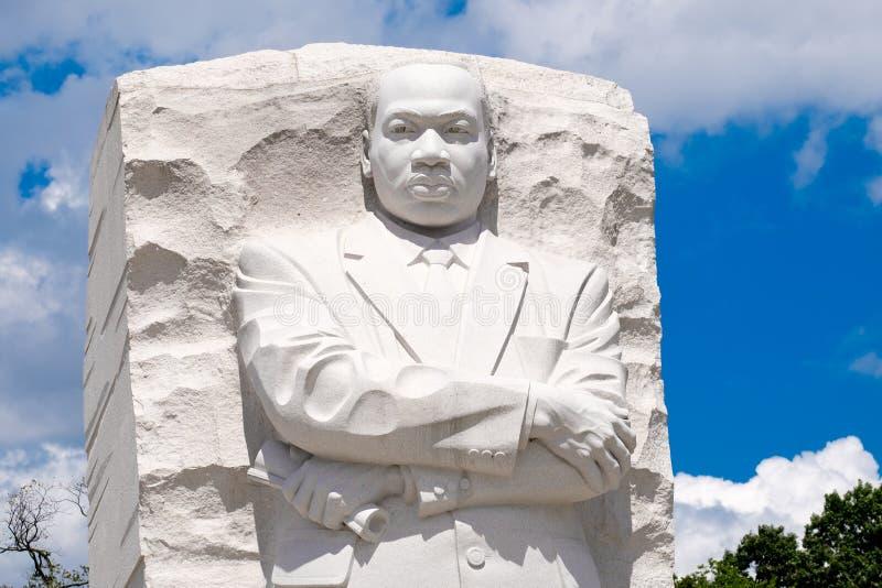 Martin Luther King Jr Nationaal Gedenkteken in Washington D C stock afbeelding