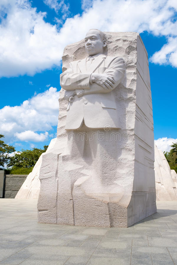 Martin Luther King Jr Nationaal Gedenkteken in Washington D C stock foto