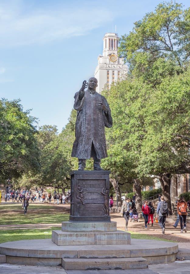 Martin Luther King, Jr. rzeźba obrazy royalty free