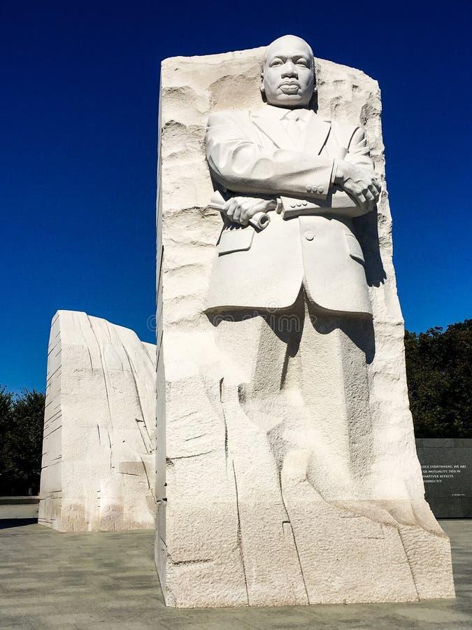Martin Luther King Jr statue images libres de droits