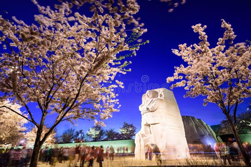 Martin Luther King Junior Memorial fotografía de archivo