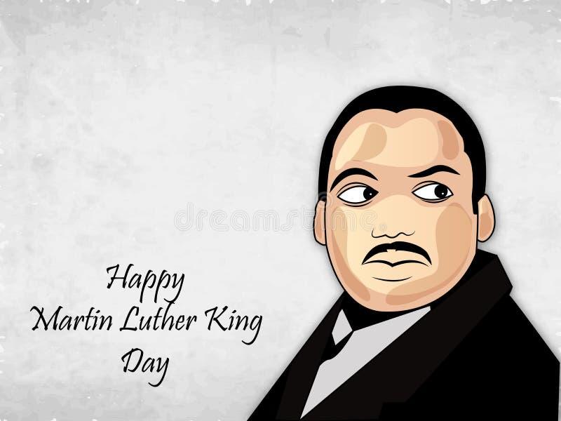 Martin Luther King, mémorial de Jr Fond de jour illustration libre de droits