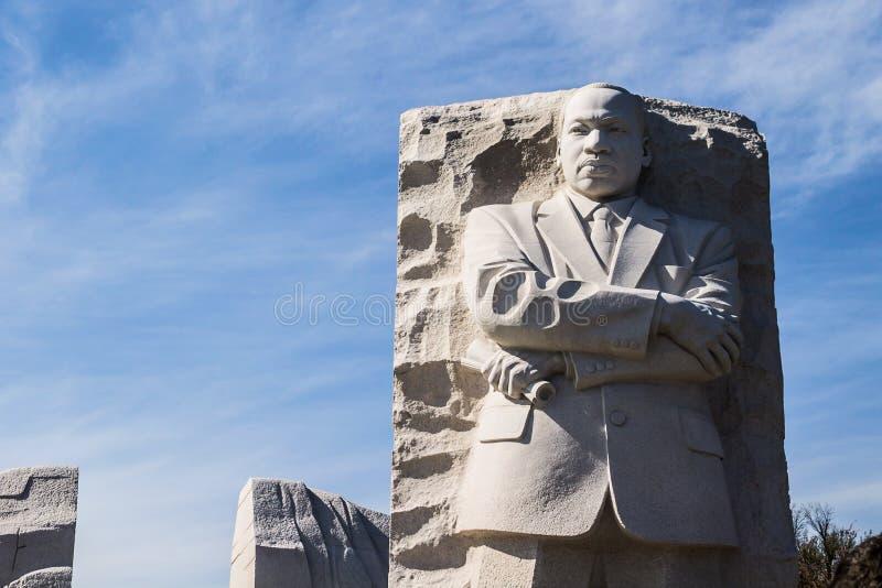 Martin Luther King, mémorial de Jr Mémorial à Washington, C.C photo stock