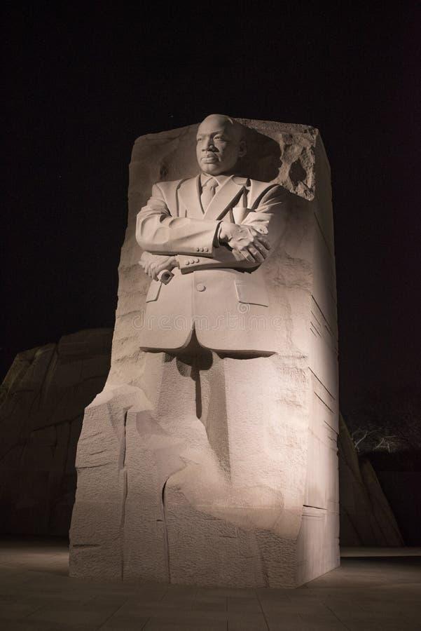 Martin Luther King, mémorial de Jr monument photos stock