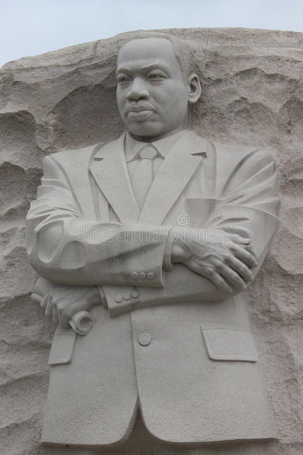 Martin Luther King Memorial Statue royalty-vrije stock fotografie